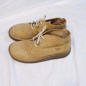 a1b4406f1c9 Dr. Martens Tan Ember Suede Lace Up Boots